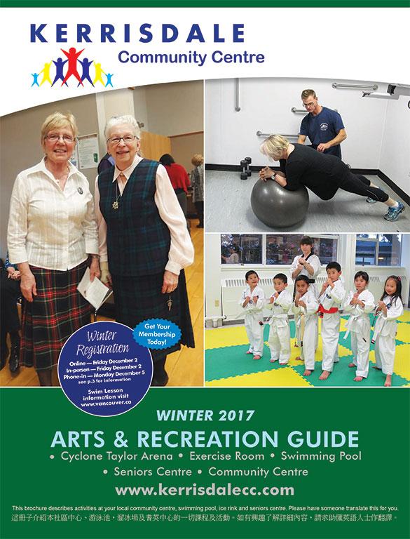 Winter Brochure Online- Reg Online Dec 2