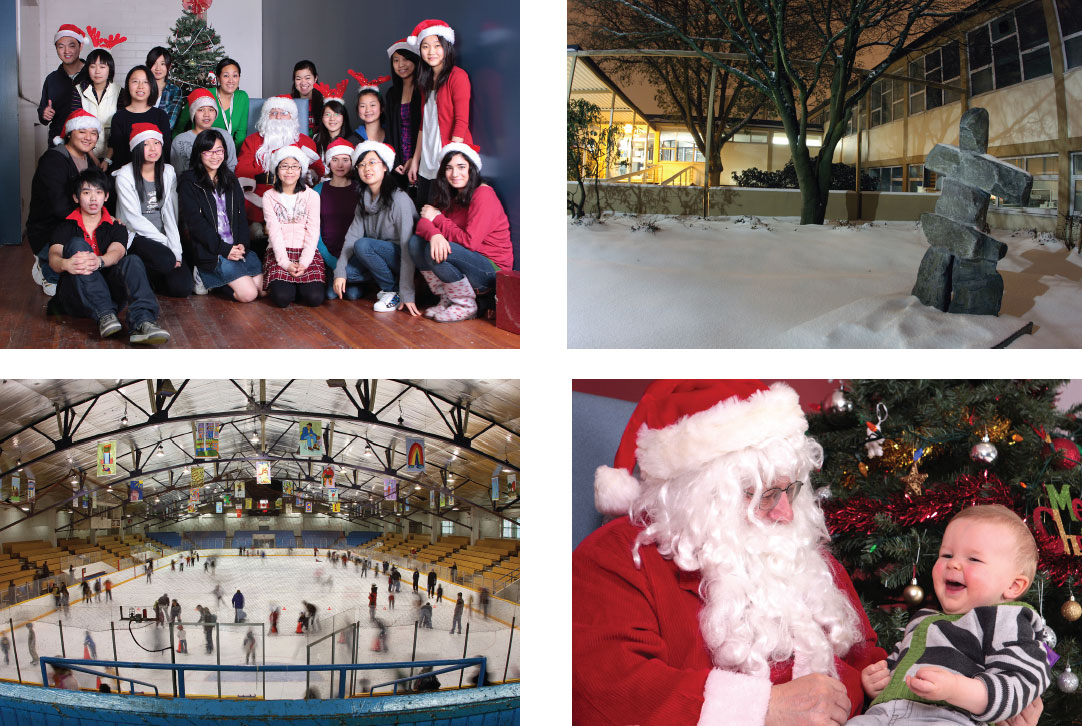 Winter Holiday Schedules for Centre-Pool-Rink