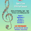 Opera Zone Fall 2016 Season