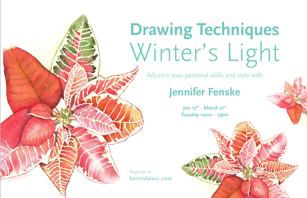 Drawing Techniques – Winter's Light