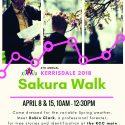 Sakura Walk-Apr 8 & 15